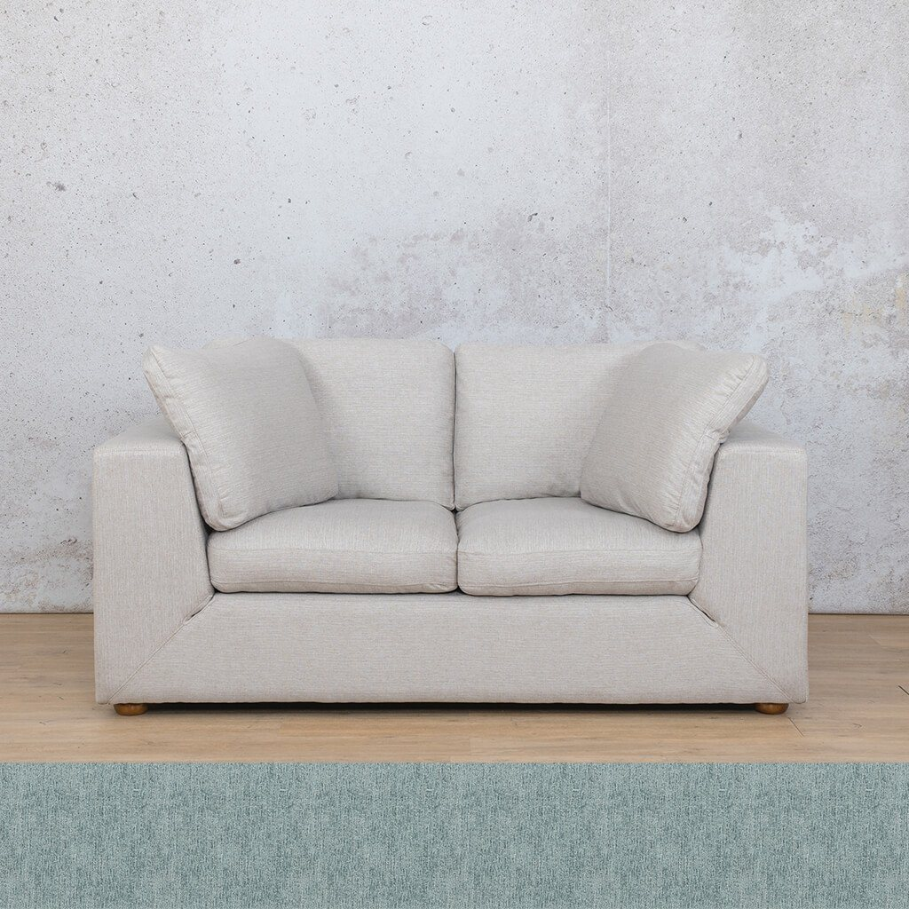 Skye Fabric Corner Couch | 2 Seater Couch | Quail Shell | Couches For Sale | Leather Gallery Couches
