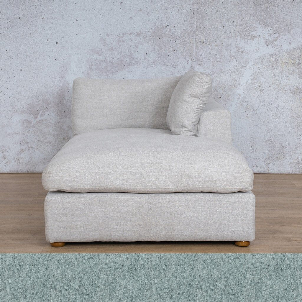 Skye Fabric Chaise Left Arm