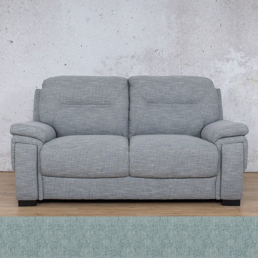 San Lorenze Fabric Couch | 2 seater couch | Quail Shell | Couches for Sale | Leather Gallery Couches
