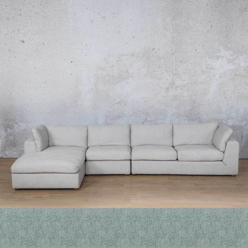 Skye Fabric Corner Couch | Chaise Modular Sectional-LHF | Quail Shell | Couches For Sale | Leather Gallery Couches