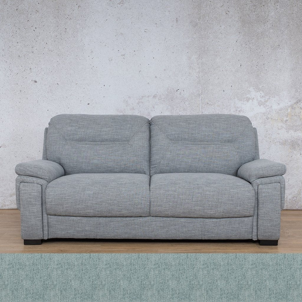 San Lorenze Fabric Couch | 3 seater couch | Quail Shell | Couches for Sale | Leather Gallery Couches