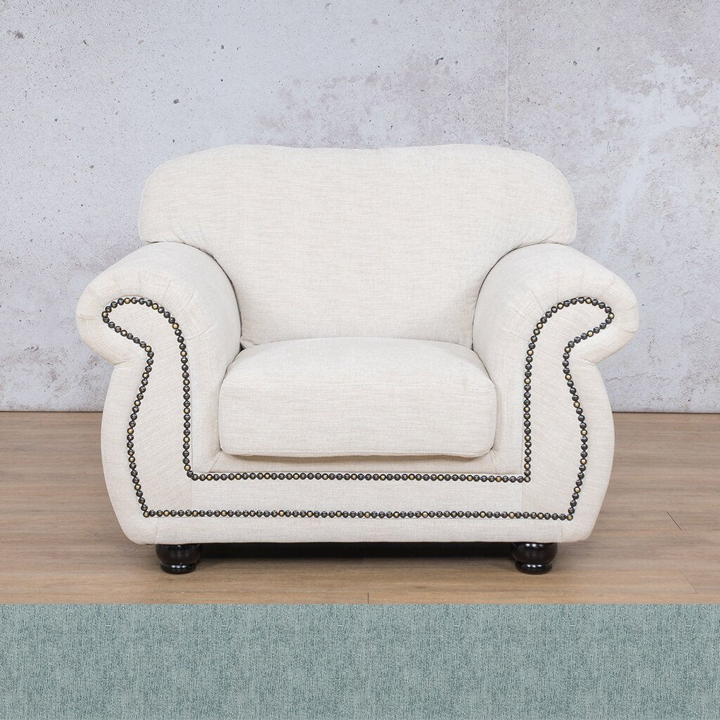 Isilo Fabric sofa suite | 1 Seater Couch  | Couches for Sale| Quail Shell | Leather Gallery Couches