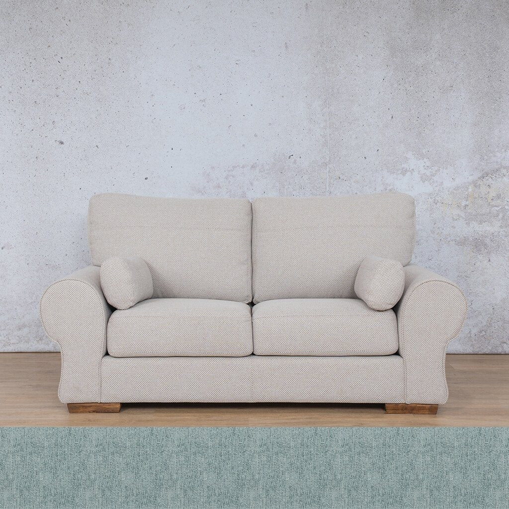 Carolina Fabric Couch | 2 Seater Couch | Couches For Sale | Quail Shell | Leather Gallery Couches