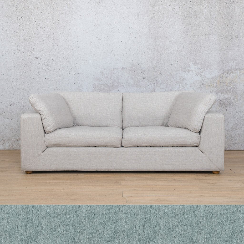 Skye Fabric Corner Couch | 3 Seater Couch | Quail Shell | Couches For Sale | Leather Gallery Couches