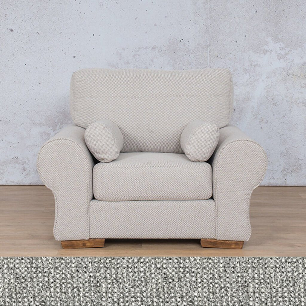 Carolina 1 Seater Fabric Sofa