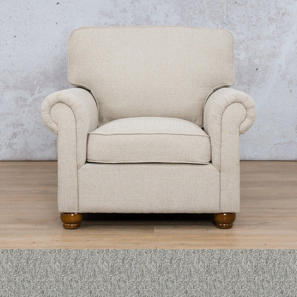 Salisbury Fabric 1 Seater