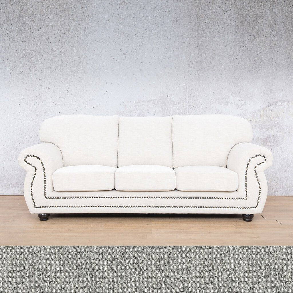 Isilo Fabric sofa suite | 3 Seater Couch  | Couches for Sale| Quarry Black and White | Leather Gallery Couches