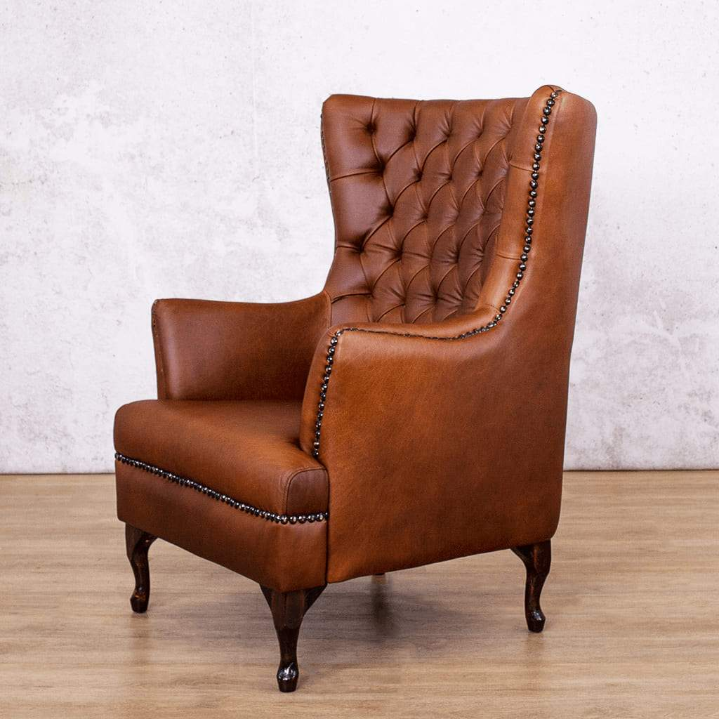 Salina Wingback Chair | Leather Gallery