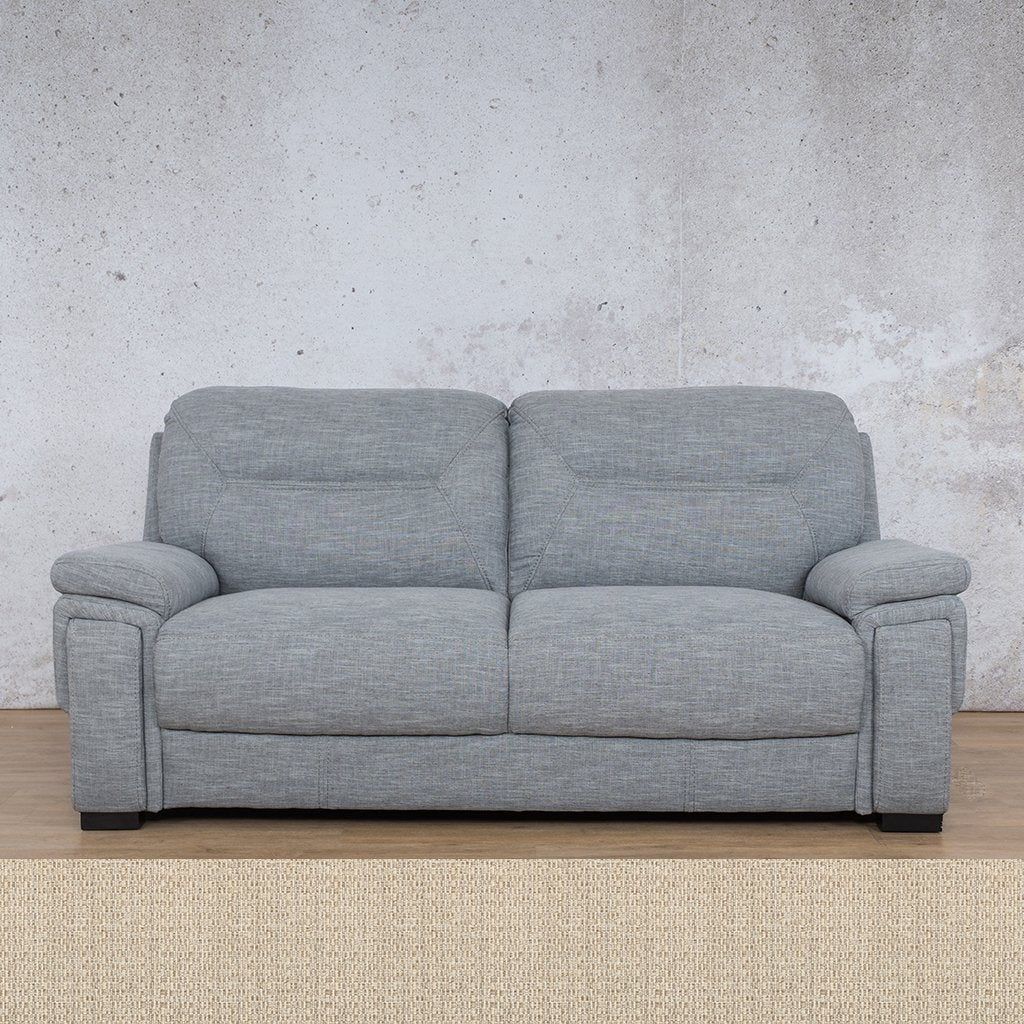 San Lorenze Fabric Couch | 3 seater couch | Riverside | Couches for Sale | Leather Gallery Couches