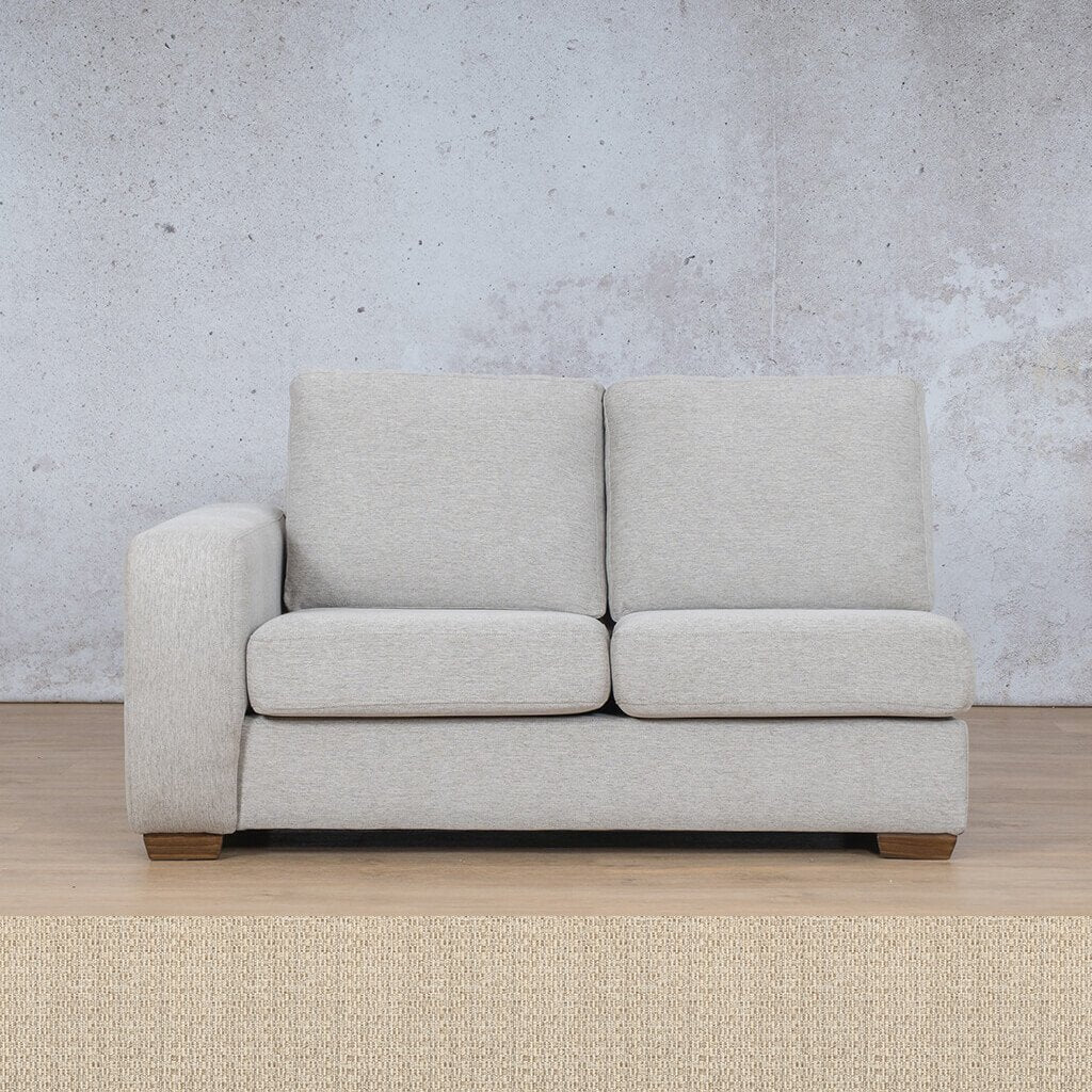 Stanford Fabric Corner Couch | 2 Seater Right Arm | Riverside | Couches For Sale | Leather Gallery Couches