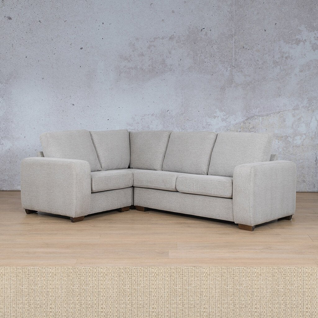 Stanford Fabric Corner Couch | L-Sectional 4 Seater Couch-LHF | Riverside | Couches For Sale | Leather Gallery Couches