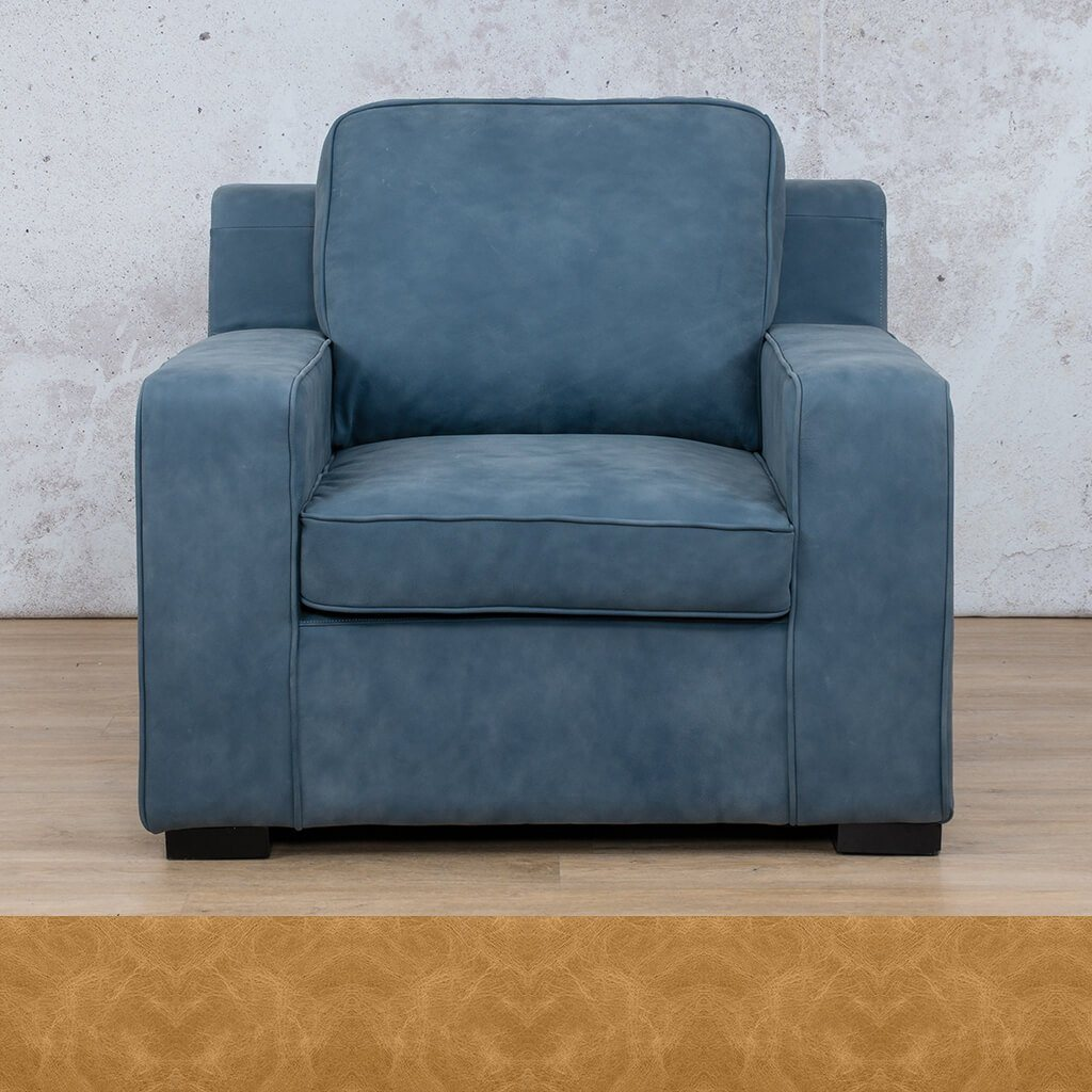 Arizona Leather | 1 Seater | Royal Hazelnut | Leather Gallery