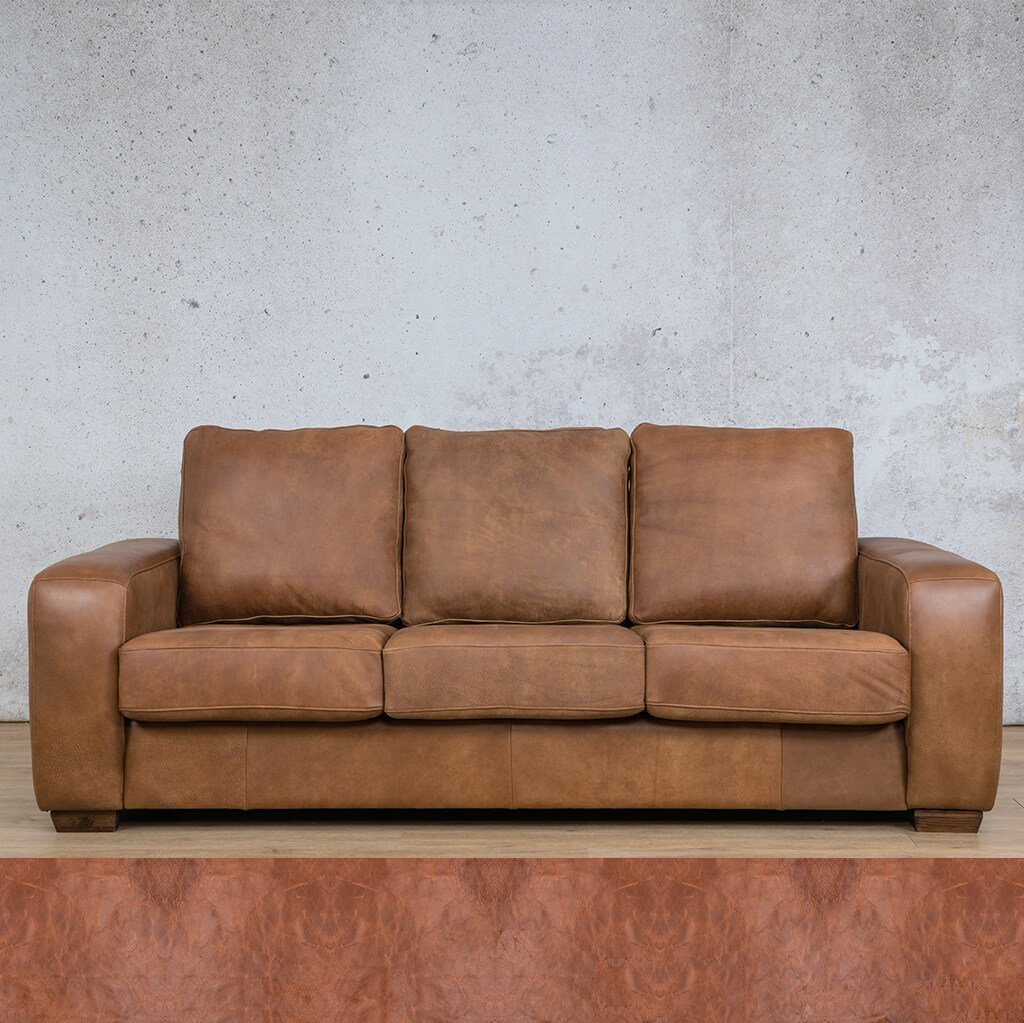 Stanford 3+2+1 Leather Sofa Suite