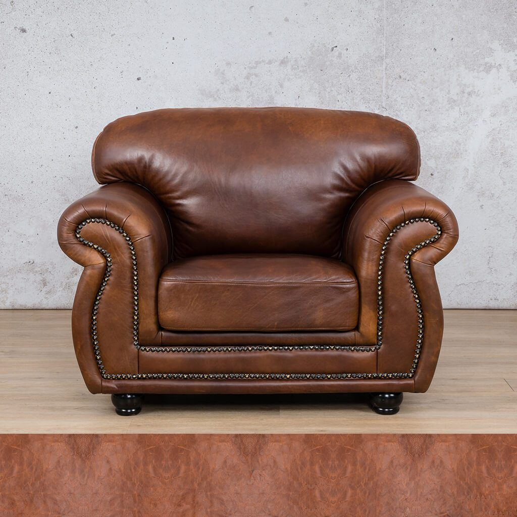 Isilo Leather Couch | 1 Seater Couch | Couches for Sale | Royal Saddle | Leather Gallery Couches