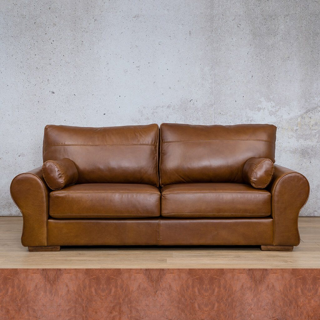 Carolina Leather Couch | 3 Seater Couch | Couches for Sale | Royal Saddle | Leather Gallery Couches