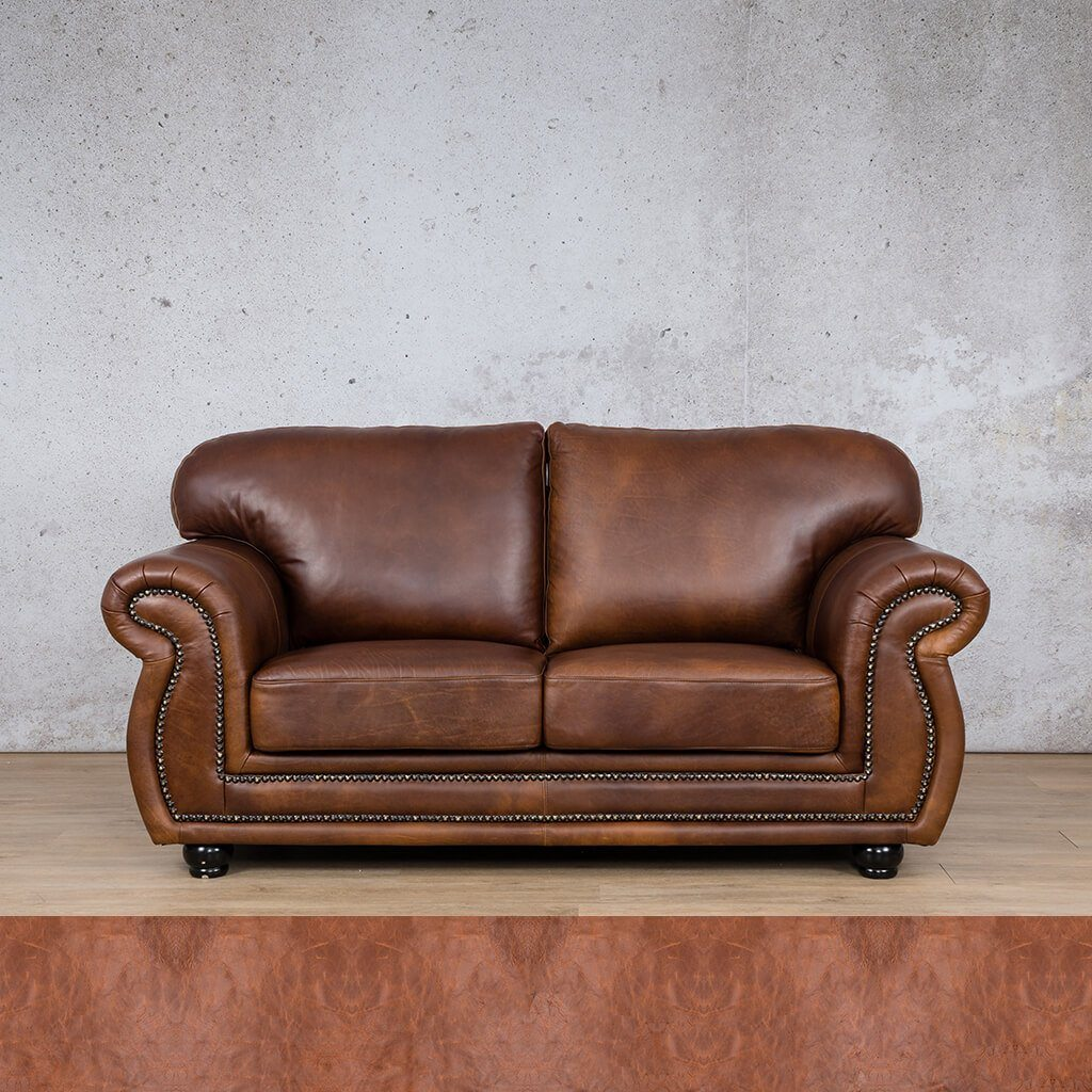 Isilo Leather Couch | 2 Seater Couch | Couches for Sale | Royal Saddle | Leather Gallery Couches