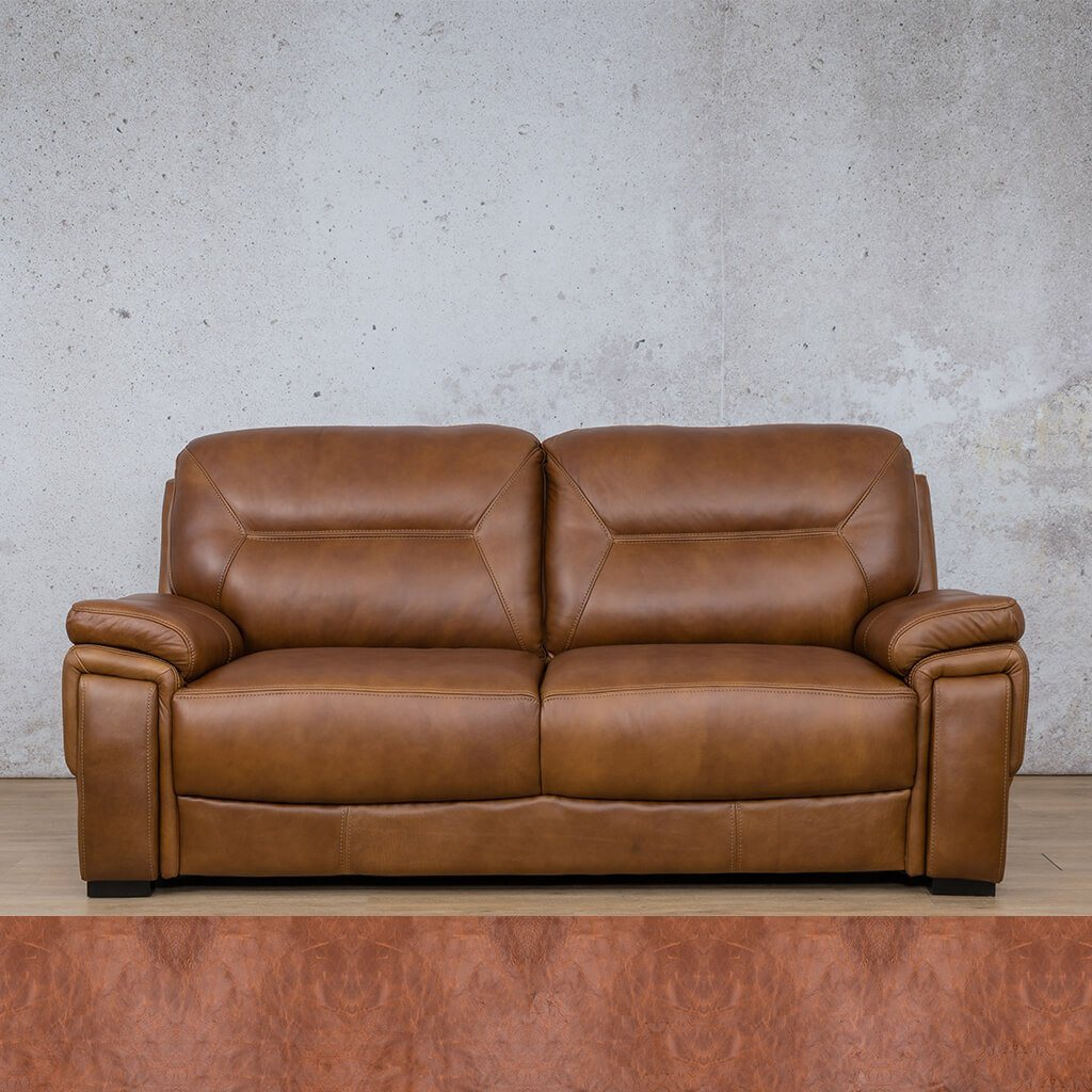 San Lorenze Leather Couch | 3 Seater Couch | Couches for Sale | Royal Saddle | Leather Gallery Couches