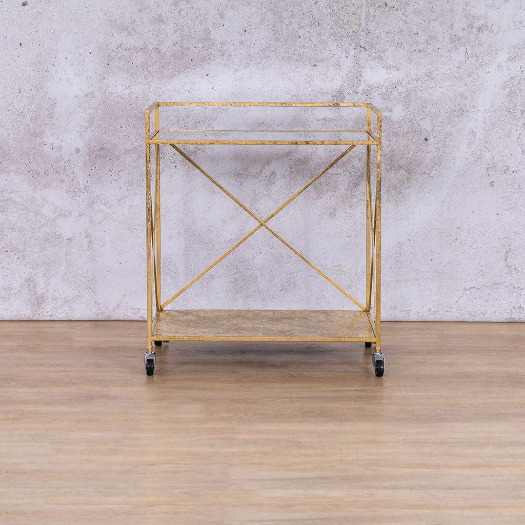 Ruby Tiered Trolley | Leather Gallery