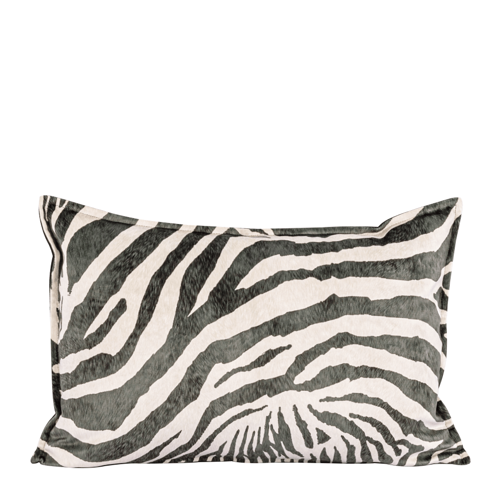 Safari Namib & Elmo Peat Bolster Cushion | Leather Gallery