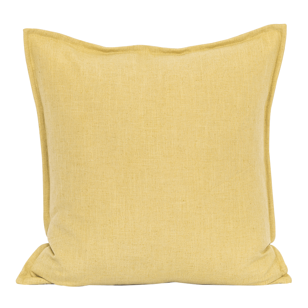 Seek Celery Cushion | Leather Gallery