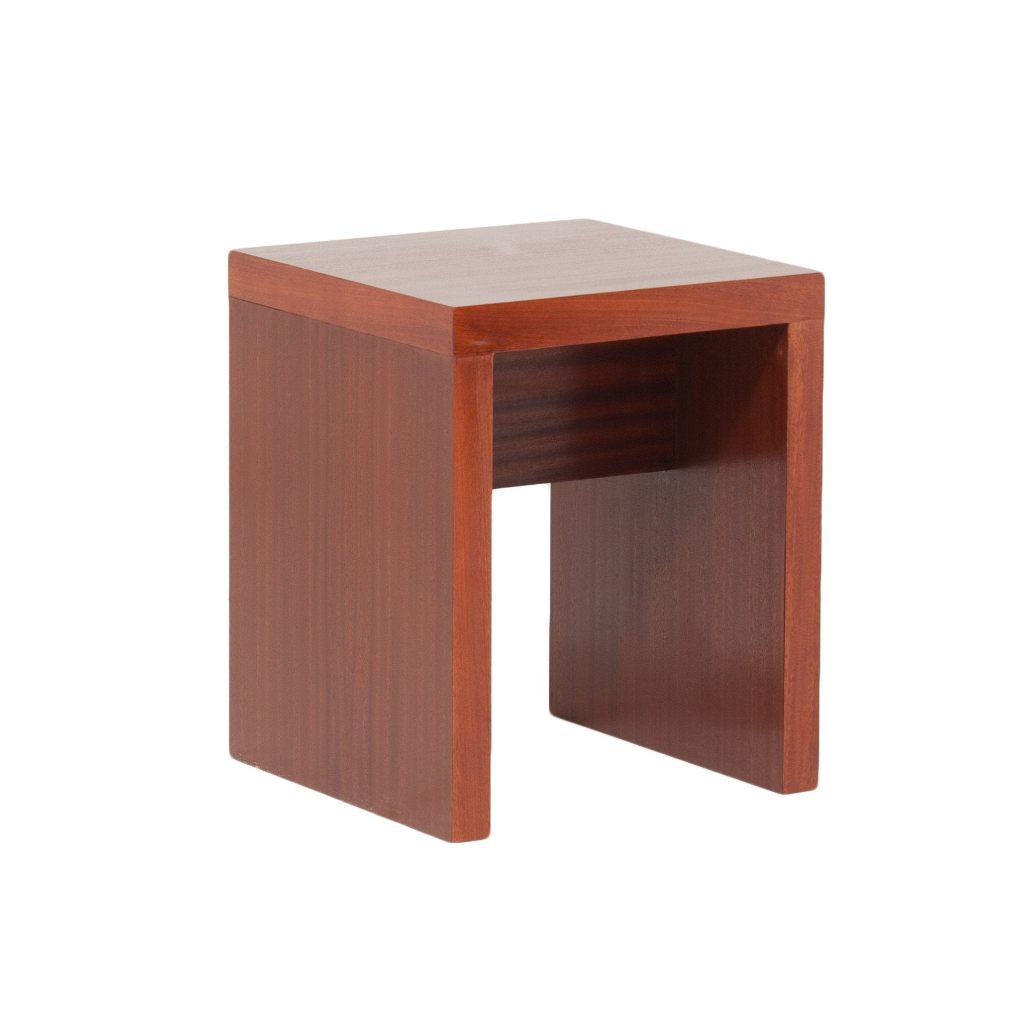 Roslyn Side Table - Saligna Veneer Top