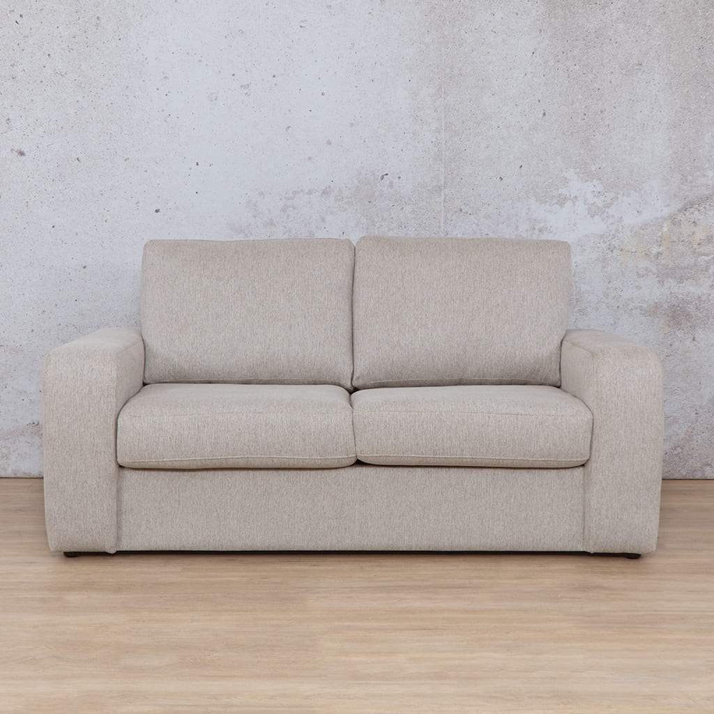 Stanford Fabric Sleeper  Couch | 2 seater couch | Oyster | Couches for Sale | Leather Gallery Couches