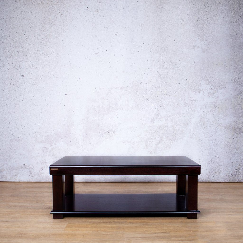 Urban Coffee Table & Shelf | Leather Gallery