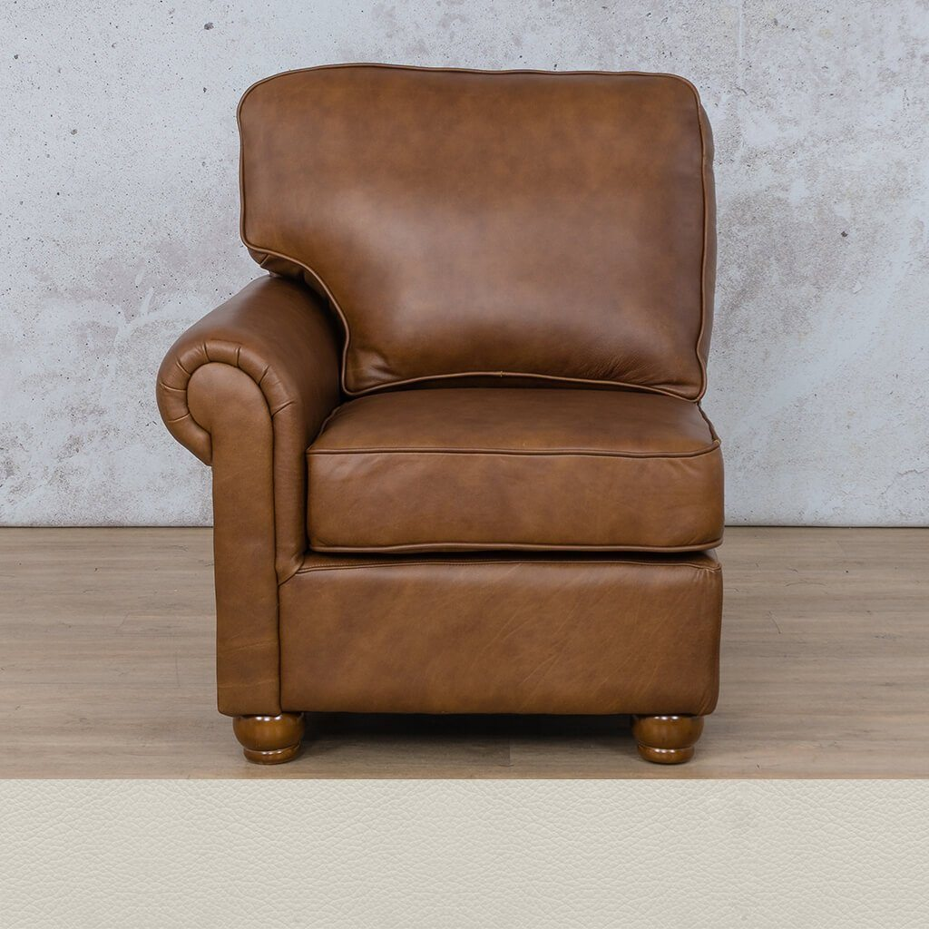 Salisbury Leather 1 Seater Right Arm