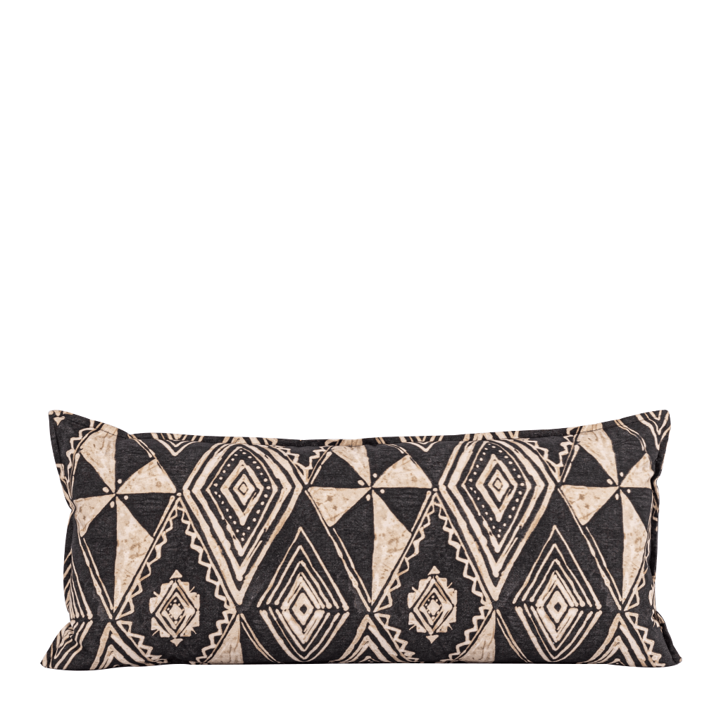 Vusi Natural Bolster Cushion | Leather Gallery