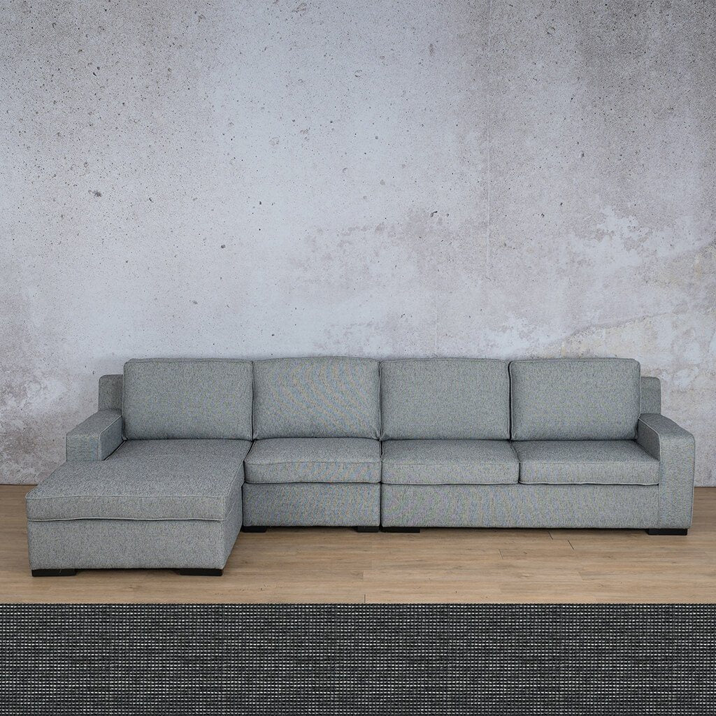 Arizona Fabric | Sofa Chaise Modular LHF | Volcanic Charcoal | Leather Gallery
