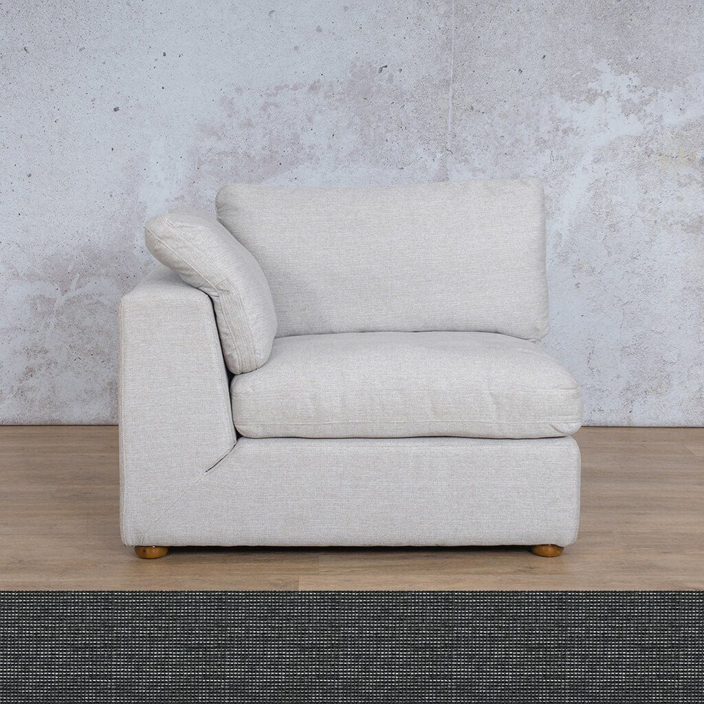 Skye Fabric 1 Seater Right Arm
