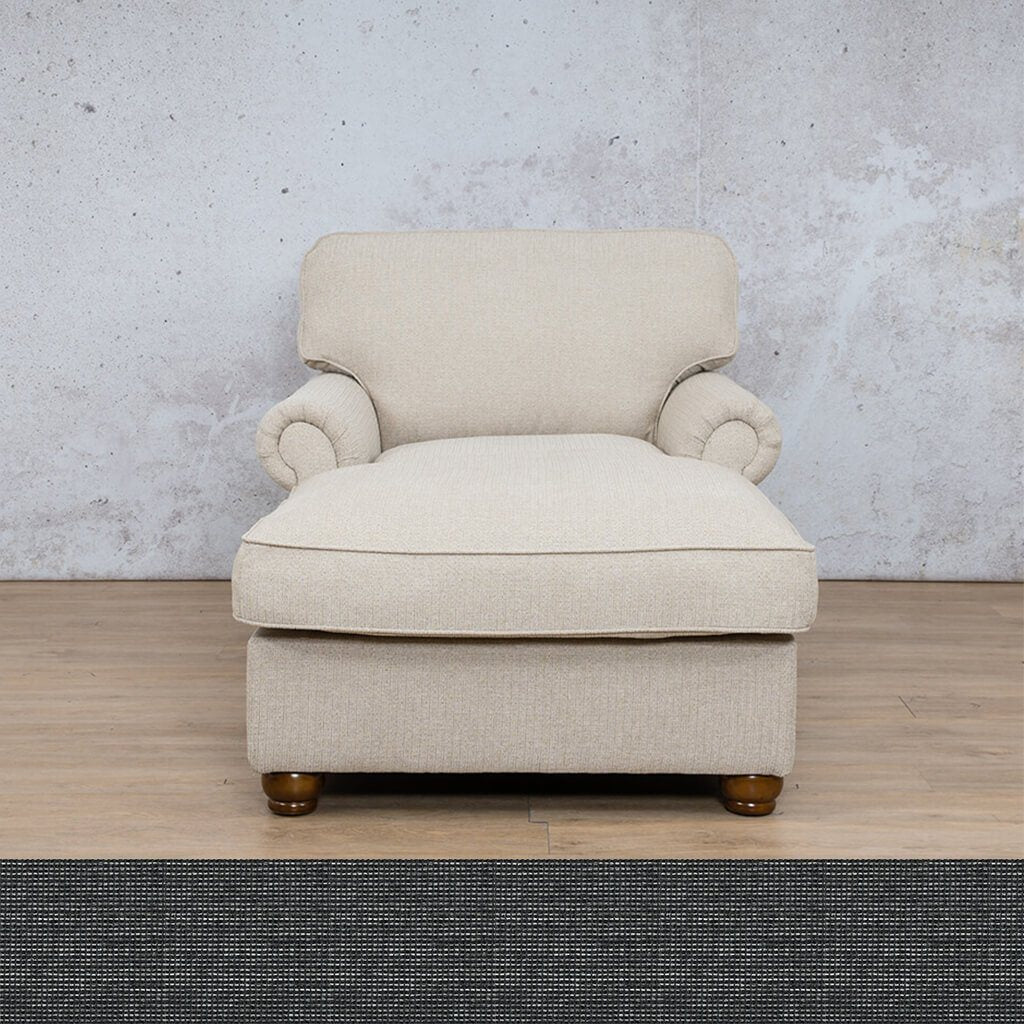 Salisbury Fabric 2 Arm Chaise