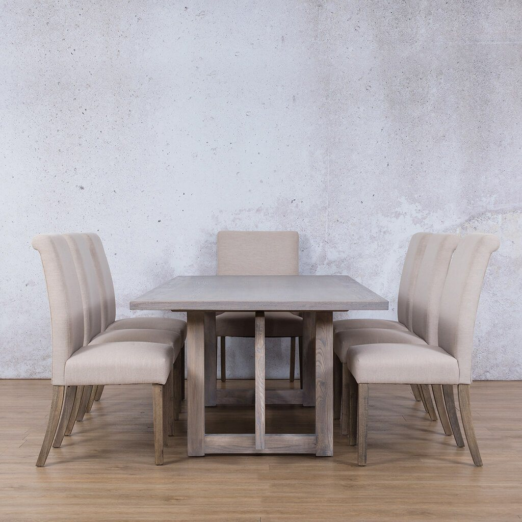 Bolton Wood Top & Baron 9 Piece Dining Set
