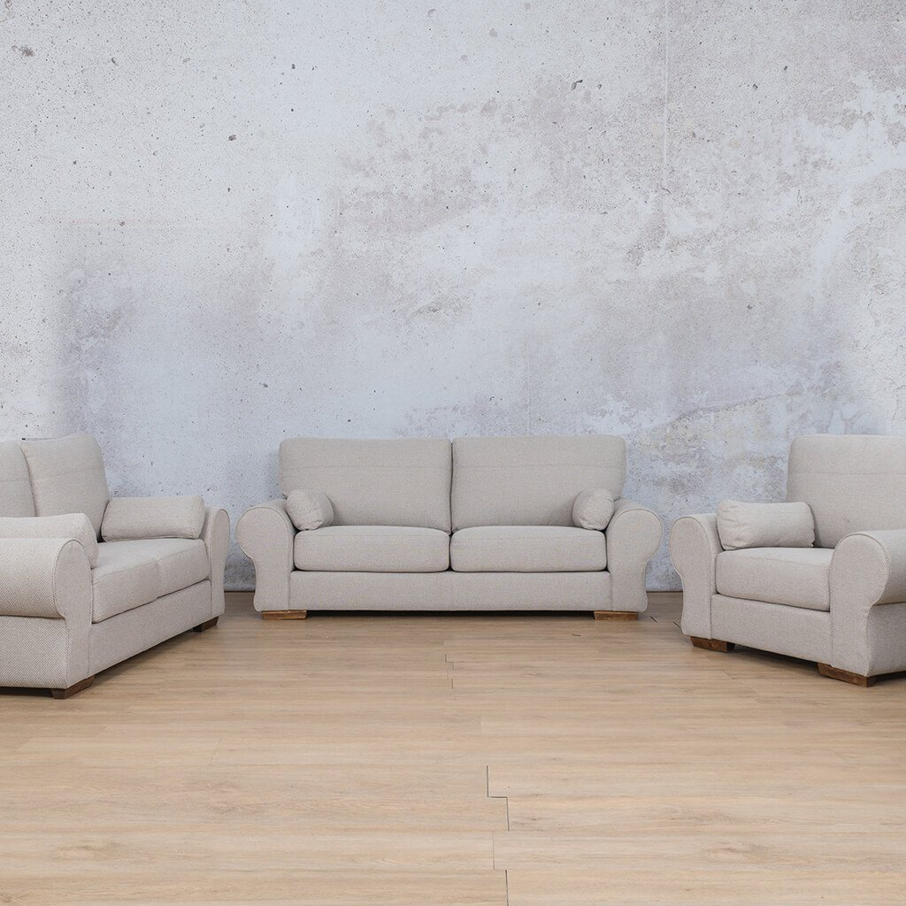 Carolina Fabric Couches | 3-2-1 seater couch | Dapple-C | Couches for Sale | Leather Gallery Couches