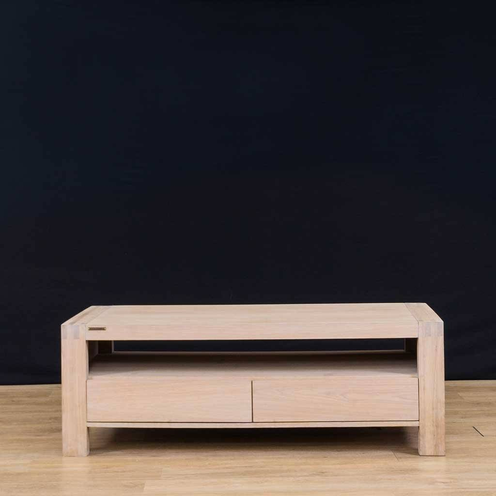 Bergen | Coffee Table | Oak | Leather Gallery