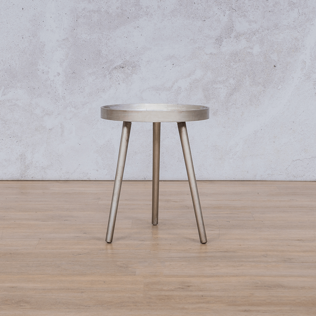 Side Table | Cortez  | Leather Gallery