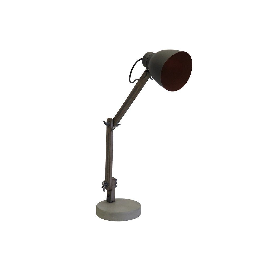 Vane Cement Desk Lamp
