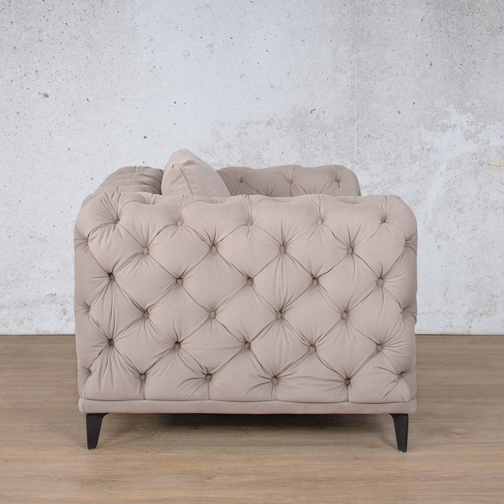 Oakland Fabric 1 Seater Sofa | Leather gallery