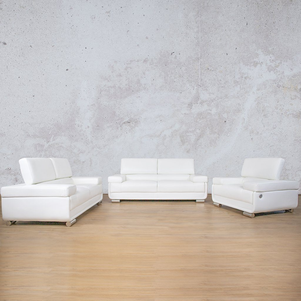 Tobago 3+2+1 Leather Sofa Suite