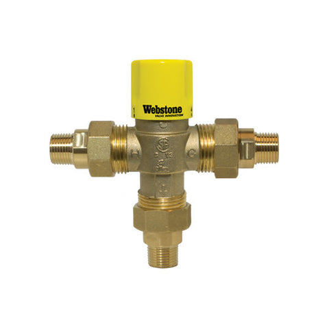 "3/4"" Male NPT Thermostatic Mixing Valve (Lead Free)"