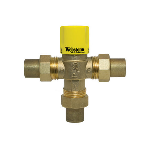 "1"" Sweat Thermostatic Mixing Valve (Lead Free)"