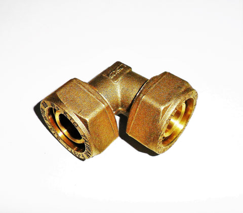Pex - Al - Pex Elbow, 90 degree (compression fitting)