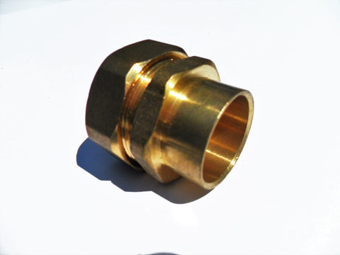 Pex Al Pex Sweat Adapter (Compression Fitting)