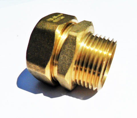 Pex - Al - Pex  Male thread adapter (compression fitting)
