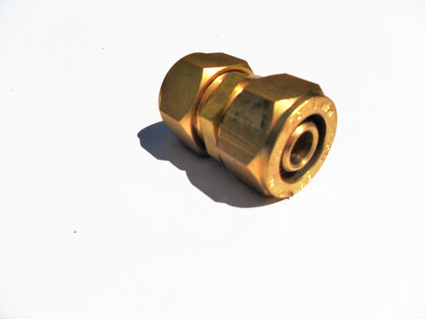 Pex - Al - Pex Coupling (compression fitting)