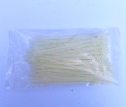 "6"" Nylon Cable Ties (100 Pack)"