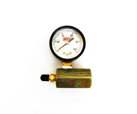 Pressure Test Kit w/ 100 p.s.i. Gauge