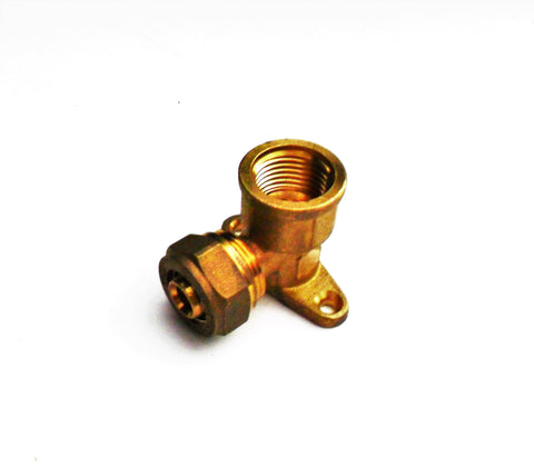 Pex Al  Pex Drop-Ear Elbow (compression fitting)