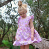 The Wynter Pinafore Dress in Claire