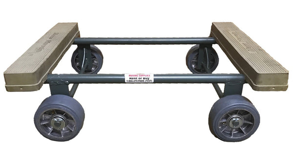 Four Wheel Dolly Steel Piano Dolly